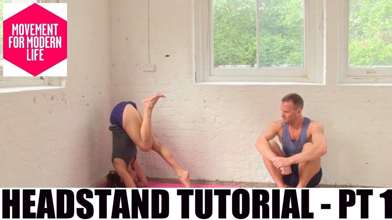 Headstand Part 1 Pose Demonstration Jean Hall Online Yoga Movement For Modern Life Youtube