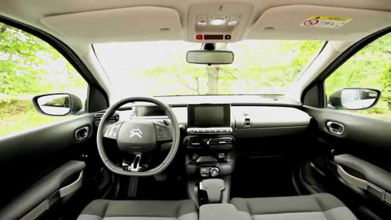 2016 Citroen C4 Cactus - Interior Design | AutoMotoTV ...