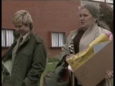 Judy Bryant's final scene in Prisoner Cell Block H - episode 534