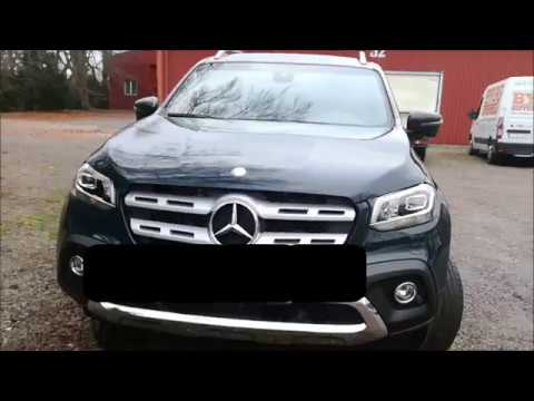 Mercedes Benz x-class Premium Pick Up Truck Test Drive Review With Euroman Driver