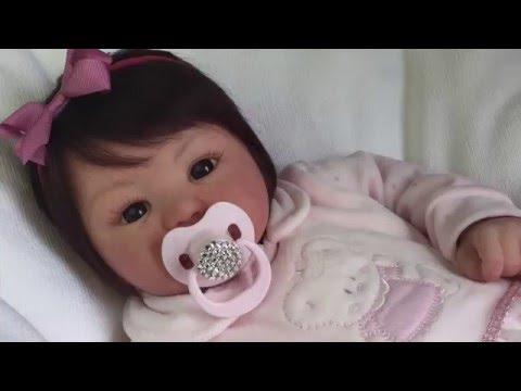 Bebê Reborn Ana Luiza - Molde Kylin