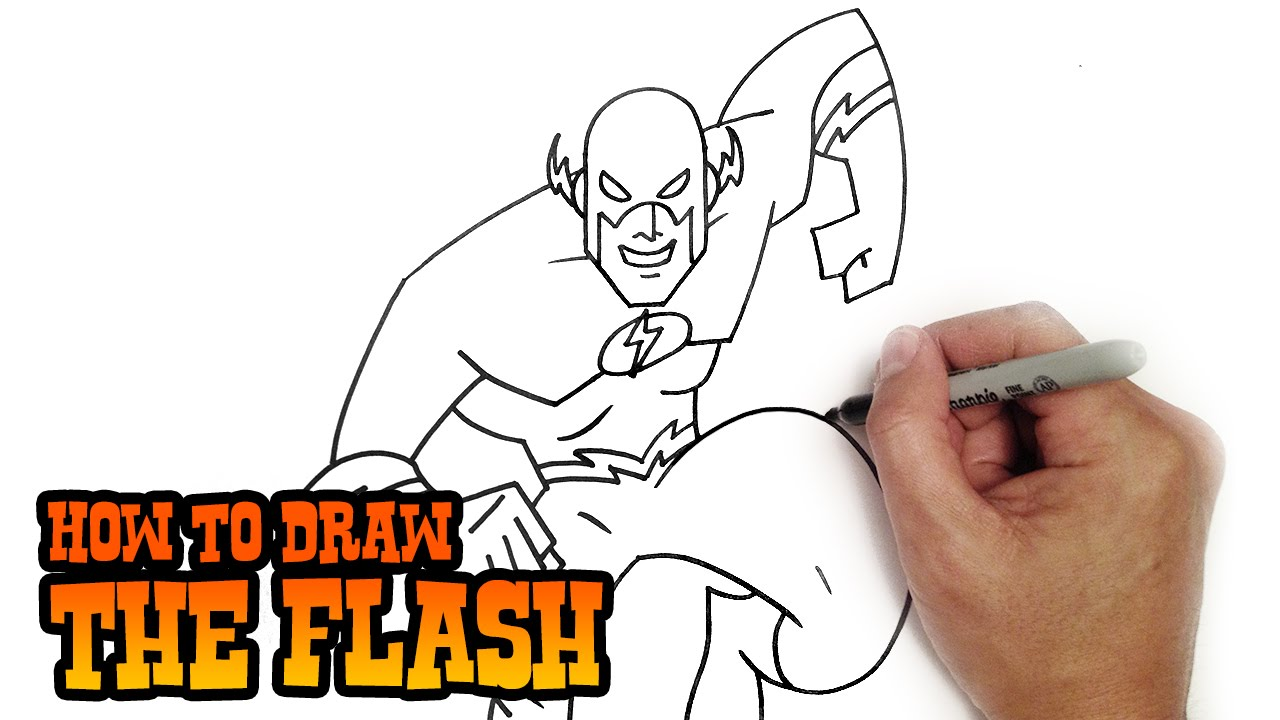 Uncategorized How To Draw Videos For Kids how to draw the flash simple video lesson youtube