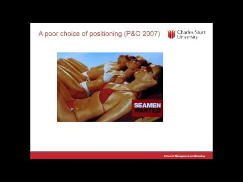 Lecture 3: Marketing Segmentation and Service Positioning
