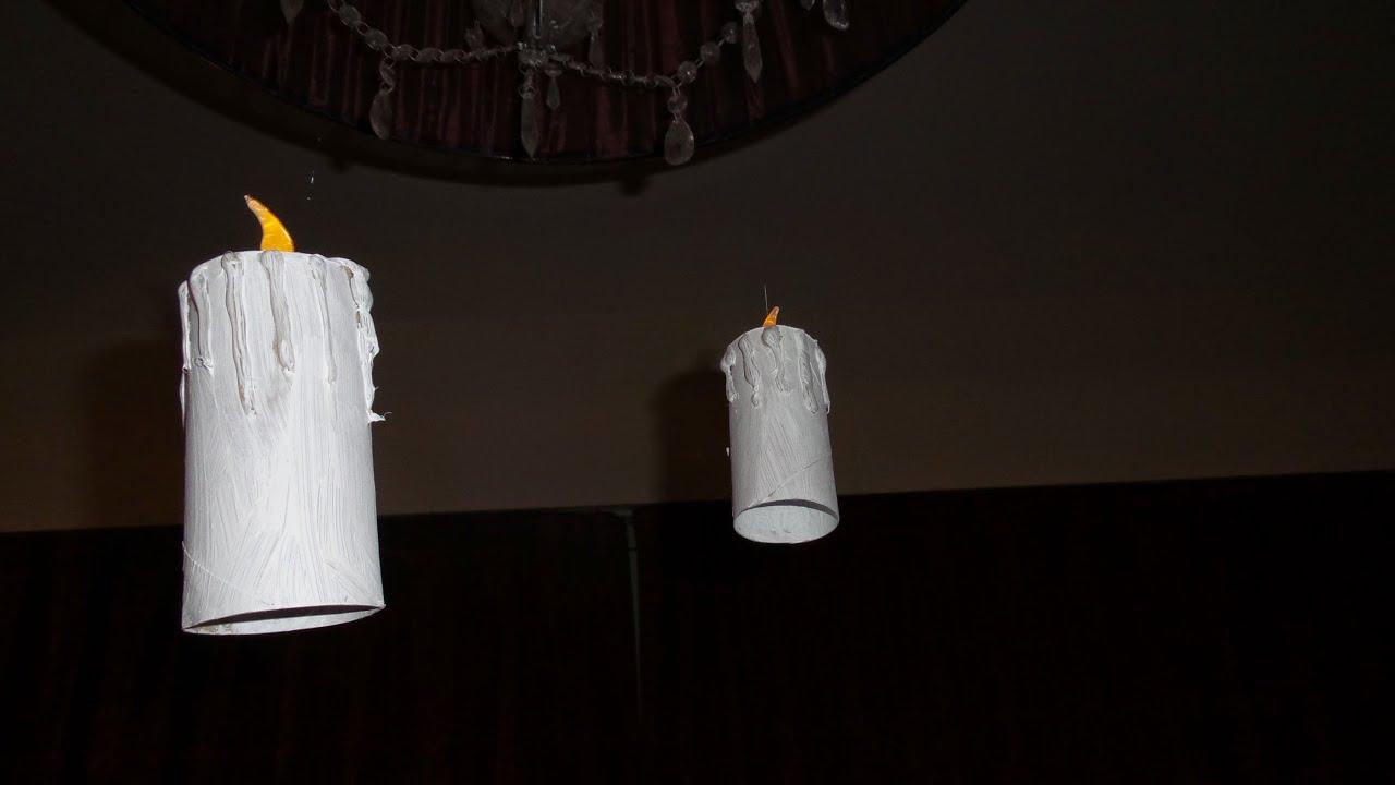 Halloween zwevende kaarsen tutorial diy youtube for Halloween versiering maken