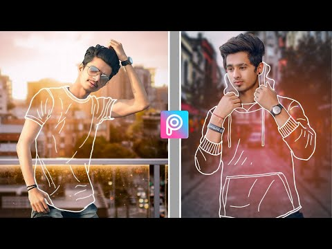PicsArt Unique Transparent Effect | PicsArt Editing Tutorial | PicsArt Photo Editing
