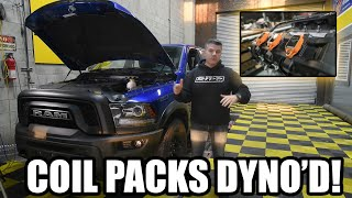 RIPP Performance Coil Packs installed & tested on the dyno! 4th Gen Ram Rebel 3.6 Classic