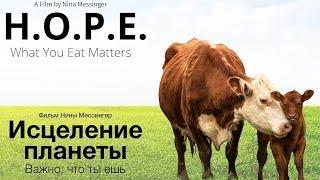 """Фильм """"Исцеление планеты. Важно, что ты ешь"""" (на русском). H.O. P. E. What You Eat Matters"""
