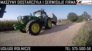 Usługi rolnicze Zbiór kukurydzy 2015 John Deere 7280