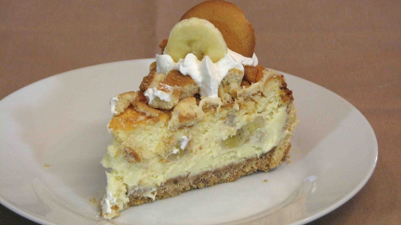 Banana Pudding Cheesecake -- Lynn's Recipes - Easter - YouTube