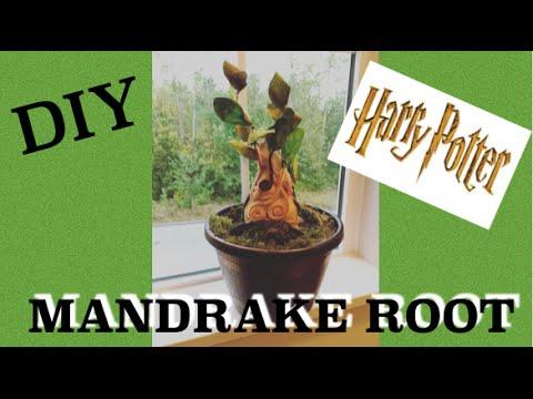 How To Make Harry Potter Mandrake Baby Diy Harry Potter Tutorial