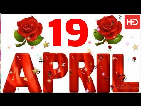 19 April Special New Birthday Status Video , Happy Birthday Wishes, Birthday Msg Quotes जन्मदिन