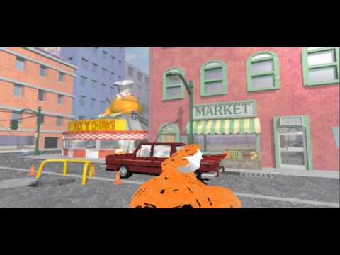 Krumm Gets Hit By a Car! (3dmm film)