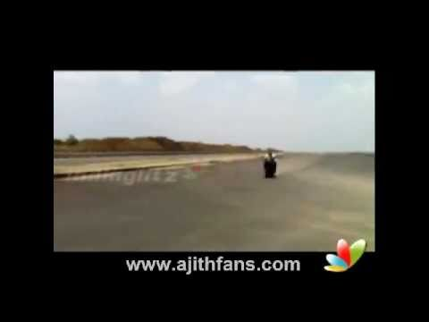 Ajith's Test Drive Awes One And All at Mankatha Shooting Spot Travel Video