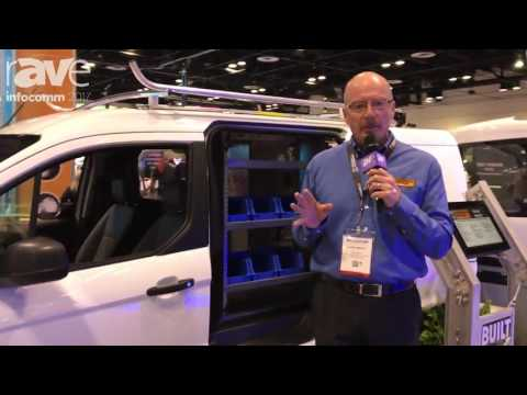 InfoComm 2017: Ford Commercial Shows Transit Connect Cargo Van with Adrian Steel