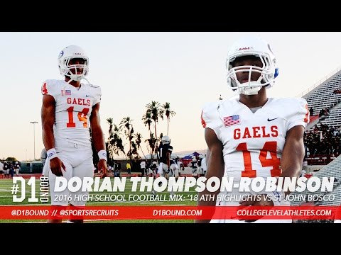 Dorian Thompson-Robinson Highlights: '18 ATH Bishop Gorman High School (NV) #D1Bound Mixtape
