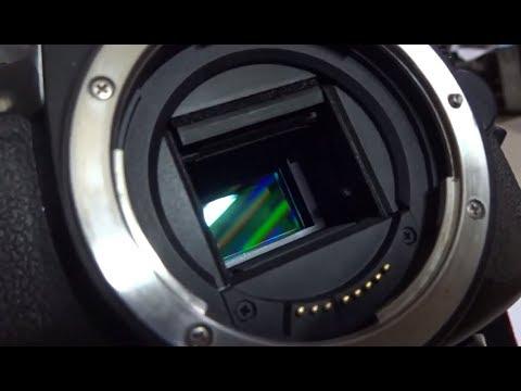 How to clean your dslr sensor Lau cảm biến Sensor máy ảnh ở đâu
