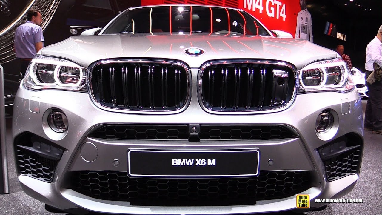 2018 Bmw X6 M Exterior And Interior Walkaround 2017 Frankfurt