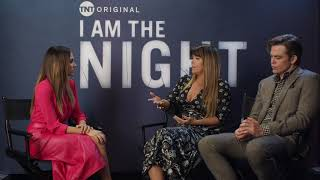 "My ""I Am the Night"" interview with...."