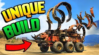 Crossout - THIS THING IS AWESOME! Unique Build & Viewer Made Builds (Crossout Gameplay)