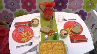 AG Review on Delicious Dinner Set and Table
