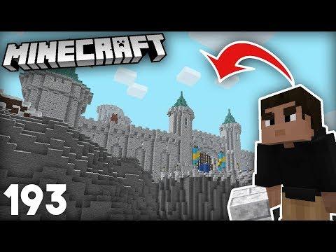 Finishing My Cliff Side Castle | Minecraft 1.14 Vanilla Survival