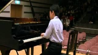 藤田大輔(中1の時の演奏)2012.4 カワイ音楽コンクール関東地区本選 ...
