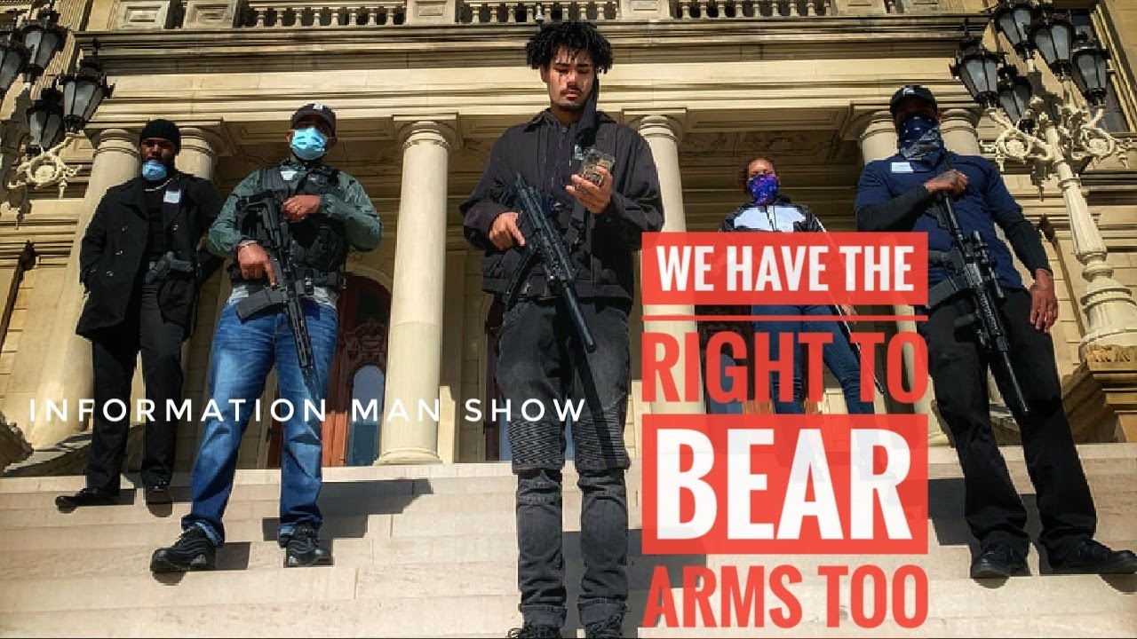 Armed Black Citizens Escort Michigan Lawmaker To Capitol Here The Truth