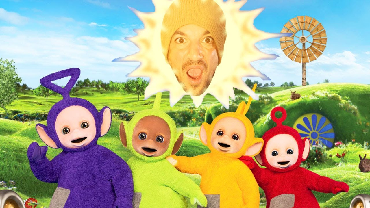 THE TELETUBBIES VISITED OUR HOUSE! *THE ANDRES