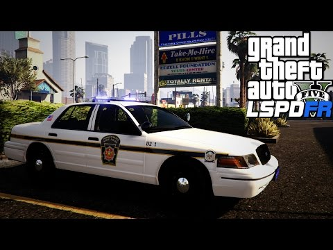 GTA V LSPDFR #63 Pennsylvania State Police Ford Crown Victoria