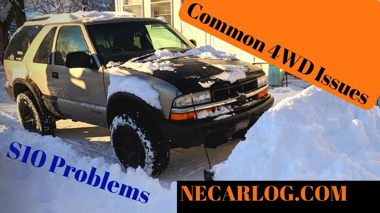 S10 4x4 Problems 4wd Not Engaging Front Diff