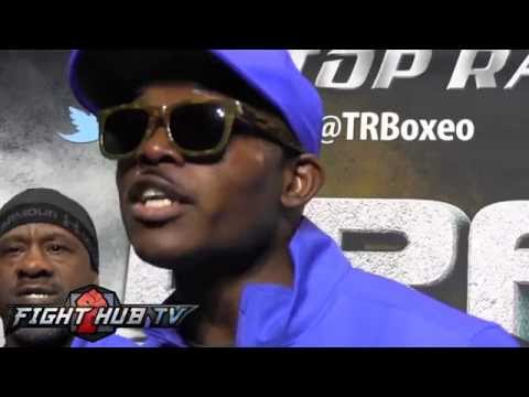 Timothy Bradley reacts to Jessie Vargas saying referee saved his life