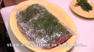 Gravlax Wild Salmon (How to Make it)