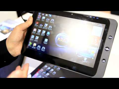 Android / Windows 7 dual-boot Viewsonic 10 Pro [MWC 2010 iGeneration]