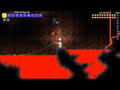 Full download terraria 1 2 4 all fishing poles rods for Fishing poles terraria