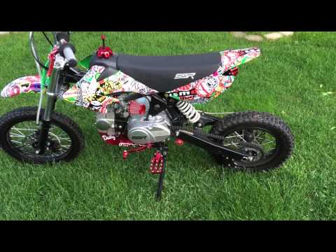 ssr 125cc pit bike upgrades update special ending youtube. Black Bedroom Furniture Sets. Home Design Ideas