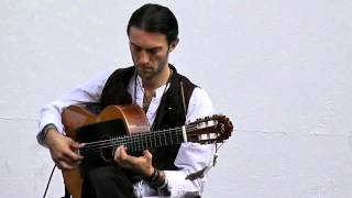Estas Tonne performing at the Neuchâtel Buskers Festival