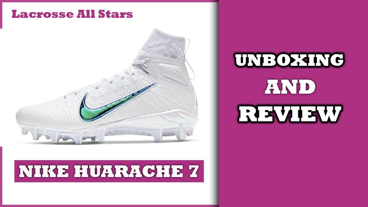 NIKE HUARACHE 7 UNBOXING | Lacrosse All
