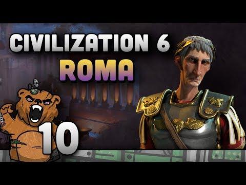 Civilization 6 | Roma #10 - Gameplay Português PT-BR