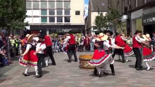 German Folk Dancing Thüringer Folklore Tanzensemble Rudolstadt Perth Perthshire Scotland