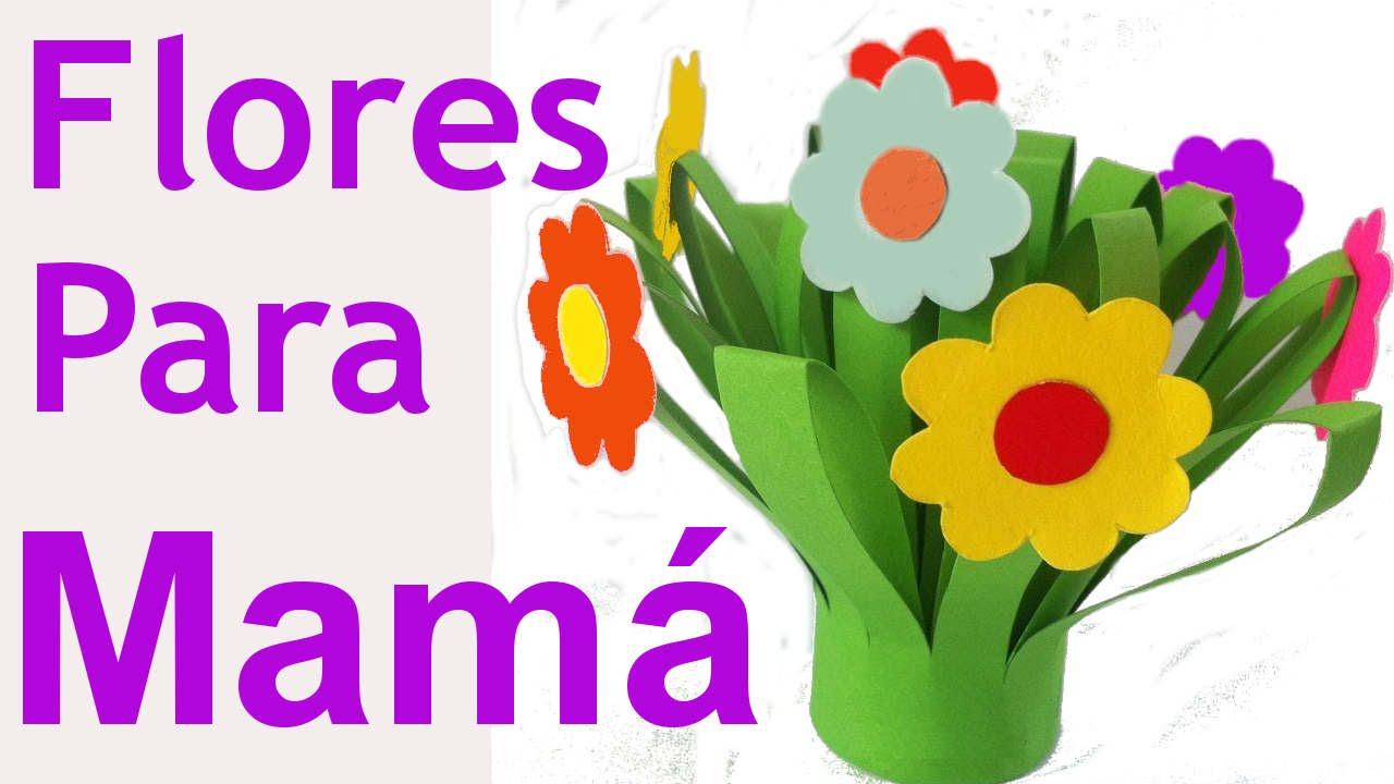 Manualidades Para El Dia De Las Madres Manualidades De Lina Youtube