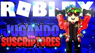🏆 PLAYING WITH SUBSCRIBERS🏆 💰AND MANY RBX💰 ROBLOX