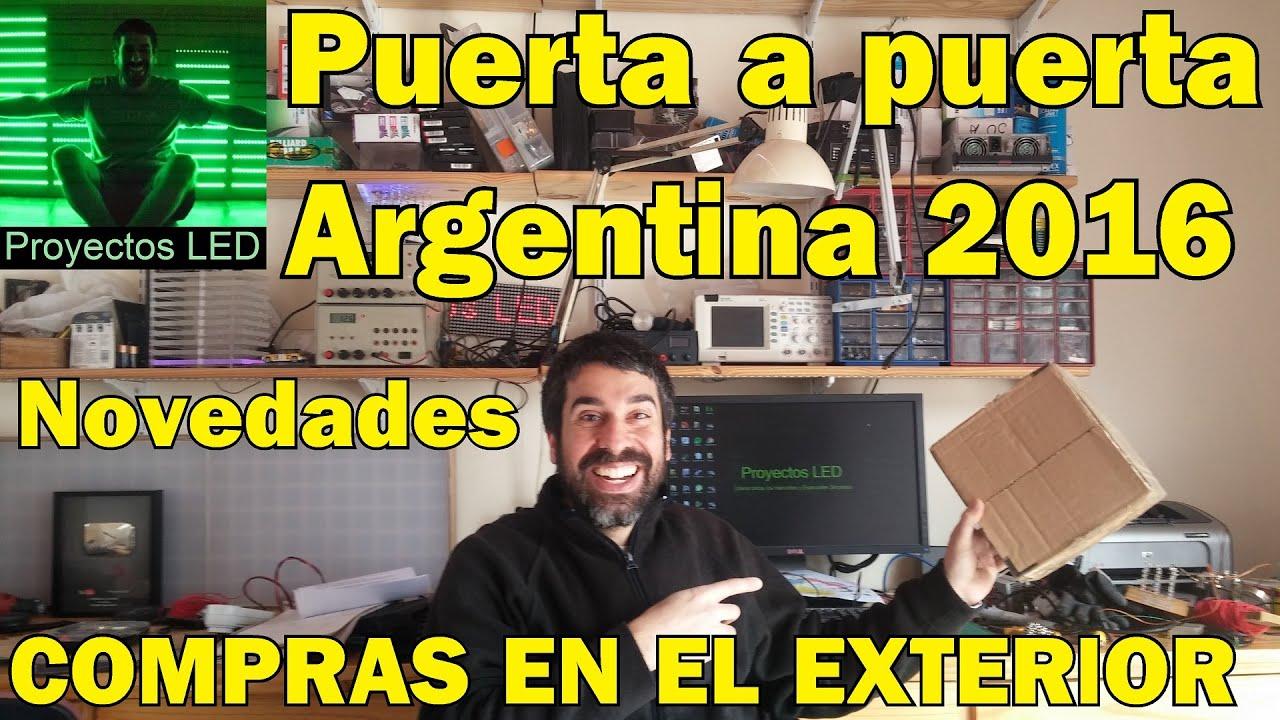 compras en el exterior envio puerta a puerta novedades argentina 2016 2017 youtube
