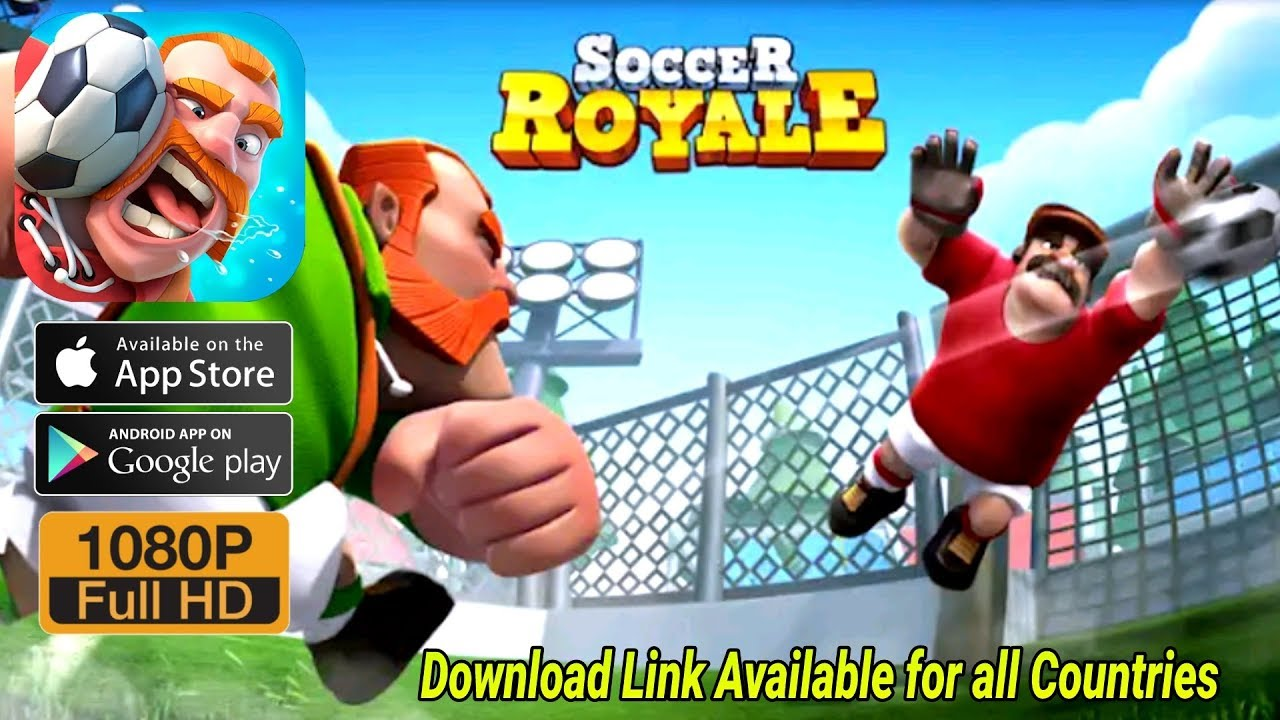 soccer royale 2018 the ultimate football clash android ios