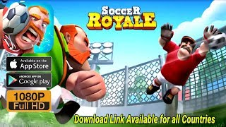 Soccer Royale 2018, the ultimate football clash! (Android/IOS) Gameplay Full HD by Genera Games