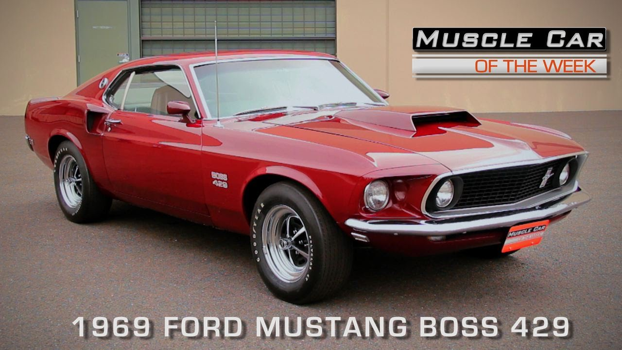 1969 Ford Mustang Boss 429 >> Muscle Car Of The Week Episode 123 1969 Ford Mustang Boss 429 Video V8tv