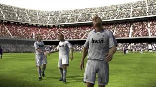Let's Play Retro : FIFA 08 | Real Madrid vs Fc Barcelona Gameplay