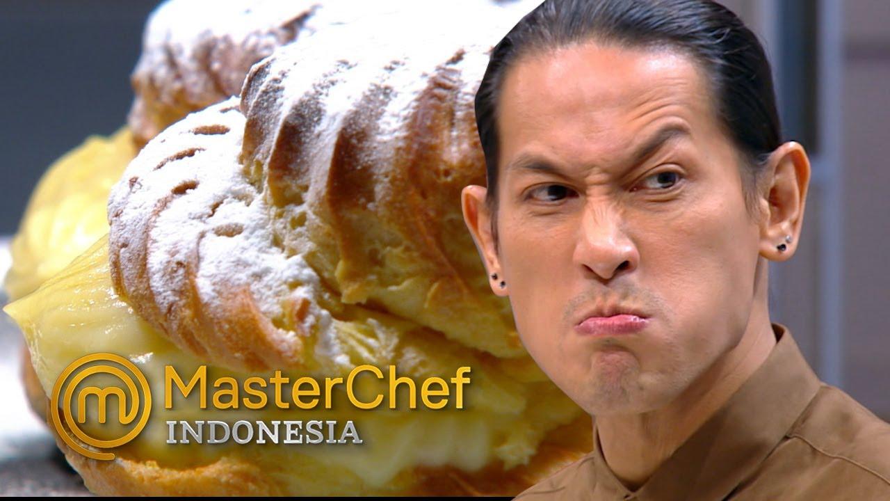 MASTERCHEF INDONESIA - Ekspresi Chef Juna Saat Mencoba Soes Buatan Dava | Galeri 5