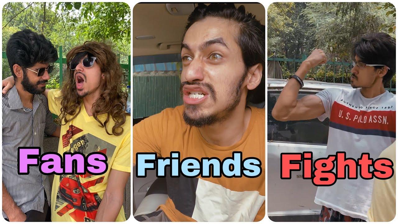 Types of Fans | Friends | People getting slapped | Akash sagar