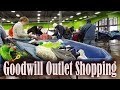 Goodwill Outlet Shopping by the Pound Amazon FBA / Ebay Reseller