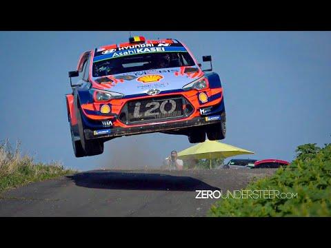 WRC Rally Deutschland 2019 | Big jumps, crashes & flatout action